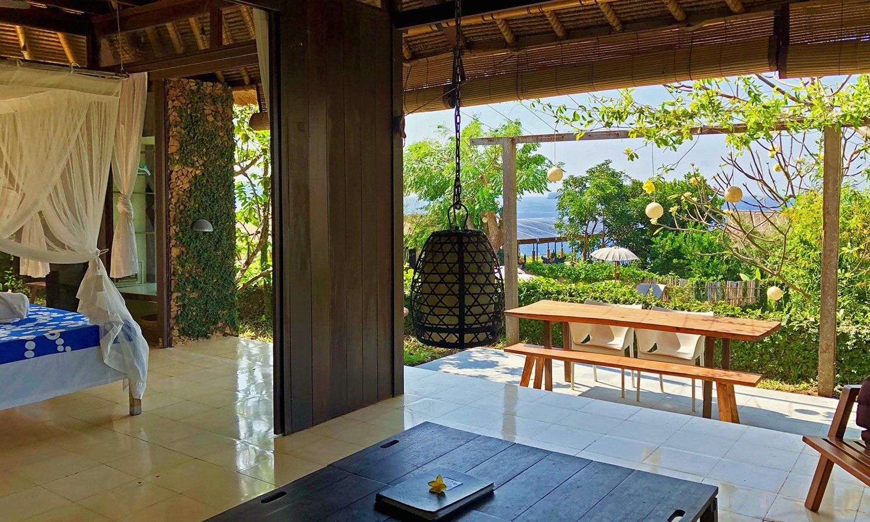 Family Villa Bloo Lagoon Padangbai Bali - Bedroom